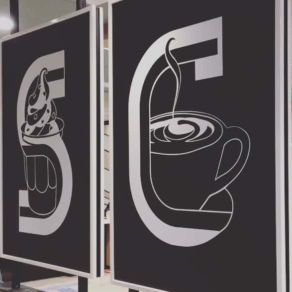 sinalização comunicação visual franquias COLA design
